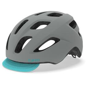 Giro Trella Helmet Women matte grey/dark teal